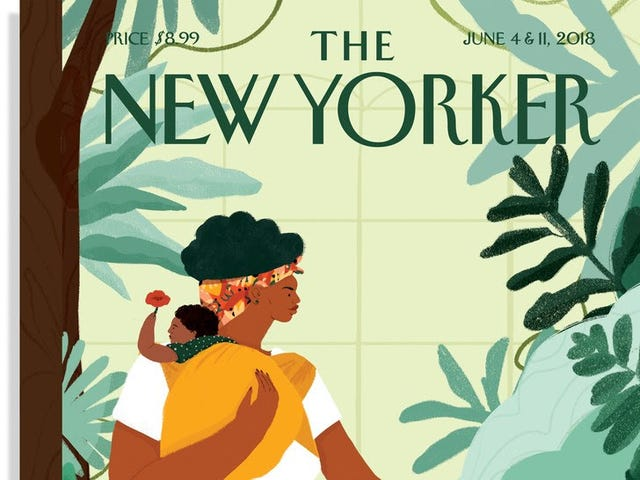 New Art-School Grad Has Already Landed New Yorker Cover