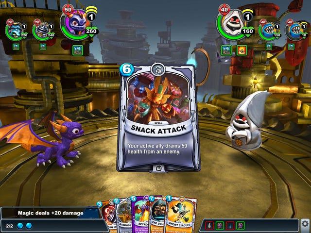 Skylanders входить в торговельні карткові ігри