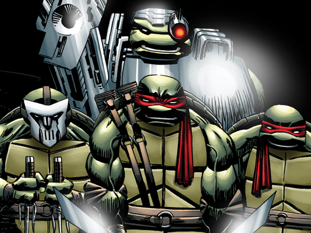 The Long-Unfinished Image <i>TMNT</i> Comic får slutligen sin slut på IDW