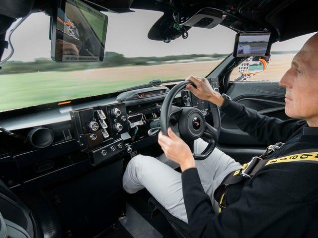McLaren Menggunakan A 720S Untuk Menguji Layout Tiga Seater Daripada Hypercar BP23