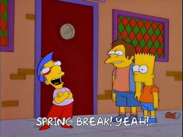 Apa yang Minum Semua?  Edisi Break Spring.