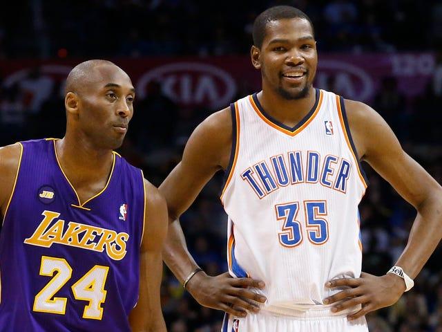Kevin Durant bläst Medien für die Kritik an Kobe Bryant