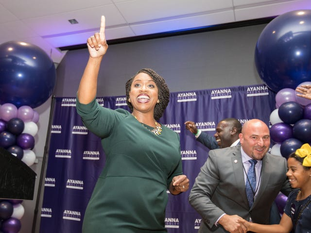 Ayanna Pressley Becomes the First Black Woman to Represent Massachusetts in Congress
