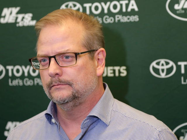 Jets Fire GM Mike Maccagnan, Who Apparently Lost Power Struggle With Adam Gase