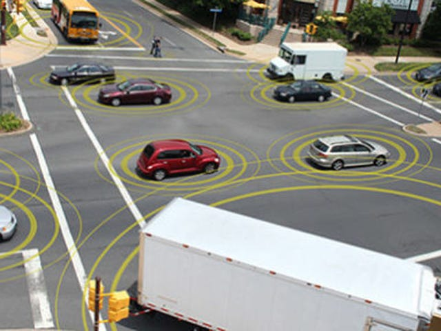 Here's Why V2V Is So Enormously Important For Driverless Cars