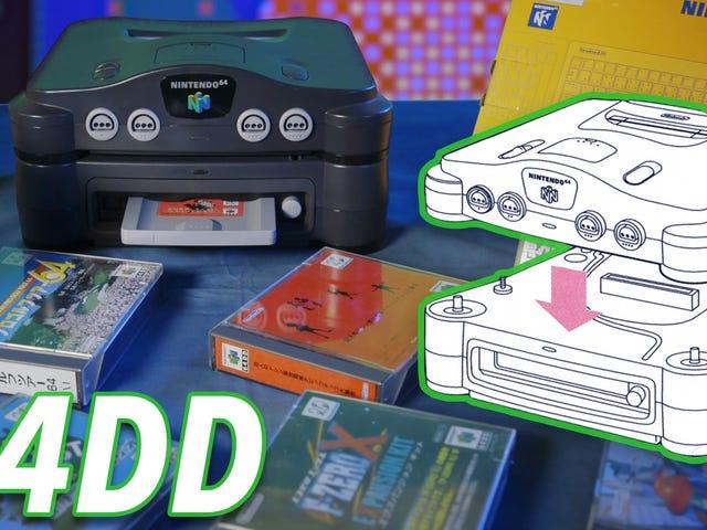 64DD adalah salah satu daripada eksperimen Nintendo yang paling menonjol