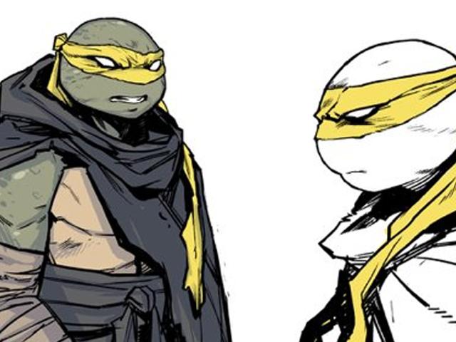 Her er dit bedste look endnu på TMNT Comics vilde nye tilføjelse