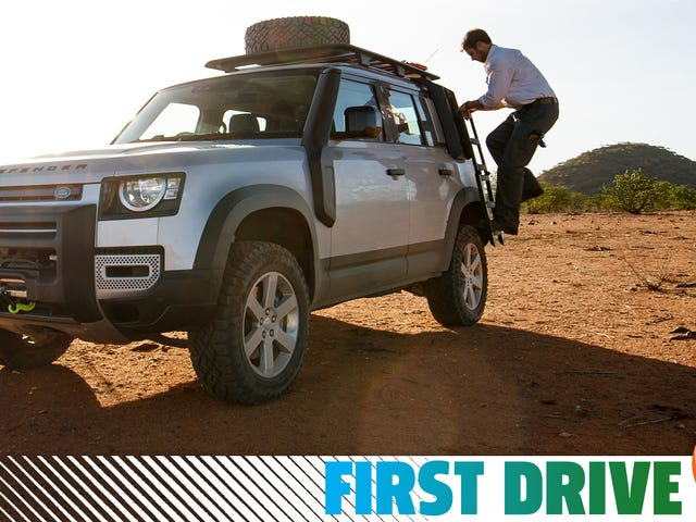 Land Rover Defender 2020 года: что мы узнали за 420 миль африканского сафари