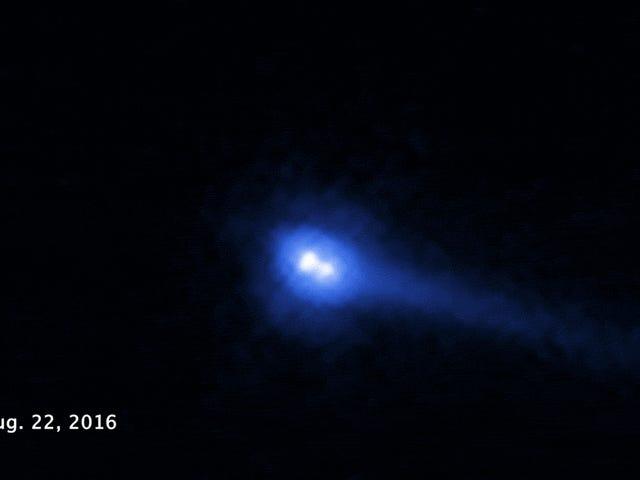 Це один з найдивніших об'єктів, які коли-небудь були виявлені в Сонячній системі