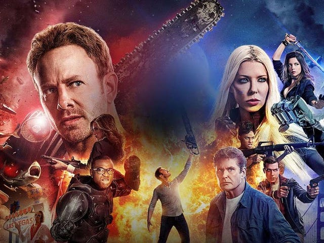 I Guess It's Sharknado 5 Day?  Are You Going To Watch?  Do You Even Care? What The Hell, Let's Have An Open Thread Too.