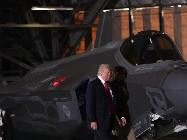 Oh Good, Trump is Getting His Tanks and Fighter Jets in Washington D.C. After All