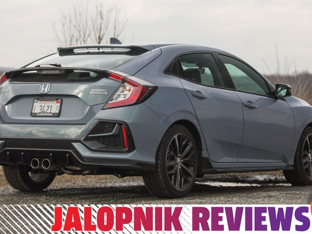 The 2020 Honda Civic Hatchback Is Too Good For Superfluous Luxury Options