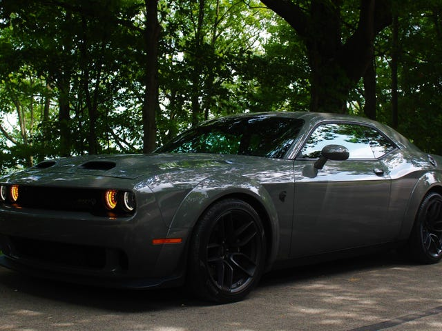 I Cannot Figure Out Whether I Love Or Hate The Dodge Challenger SRT Hellcat Redeye