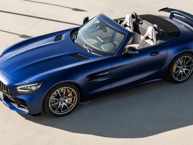 2020年メルセデスAMG GT Rロードスター:何も577 HPのような夏とは言えないから