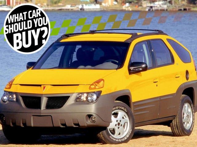 I Miss My Crazy But Practical Pontiac Aztek! What Car Should I Buy?