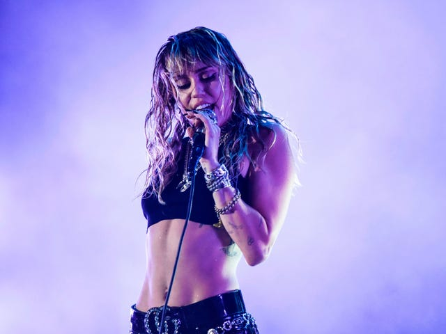 Miley Cyrus Got a 'Freedom' Tattoo, For Some Reason I Can't Possibly Determine