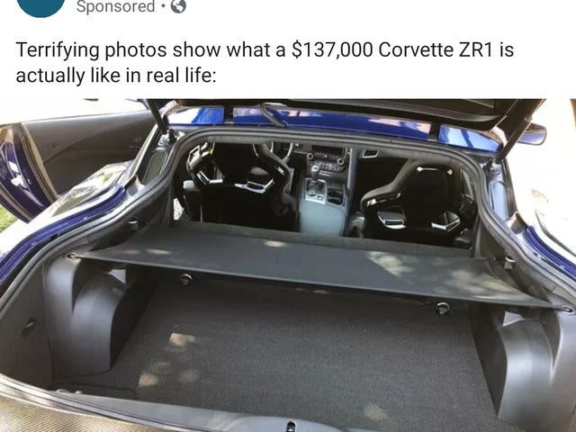 I do not believe they understand the purpose of a ZR1