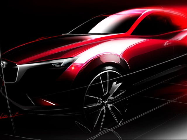 ​Mazda CX-3 Will Battle The Nissan Juke For Cute 'Ute Supremacy