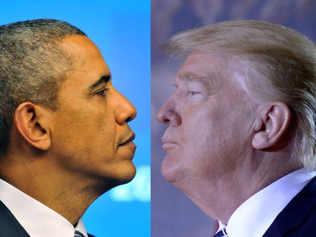 The Complete Breakdown of Obama's vs. Trump's 1st 100 Days