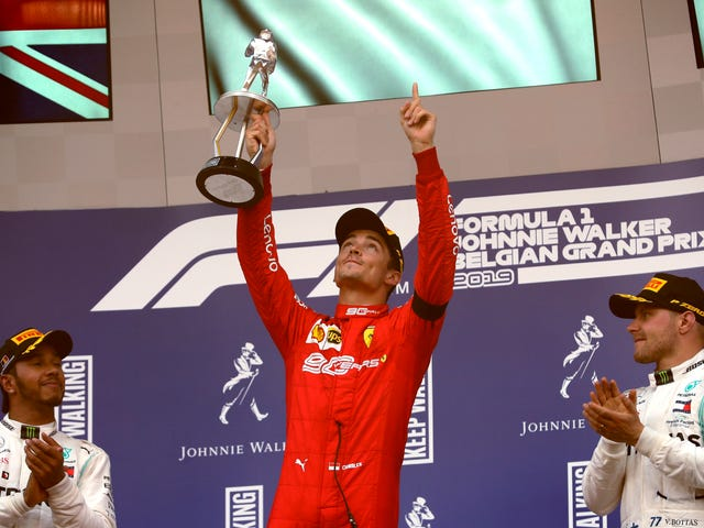 Charles Leclerc Pulls Out First Formula One Grand Prix Victory