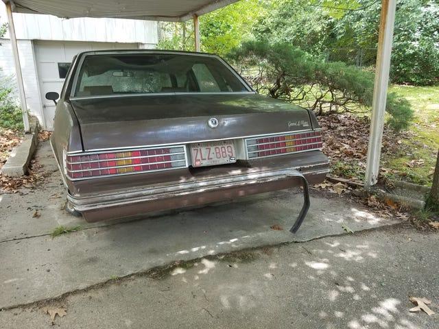 Old Pontiac, parked since 1991