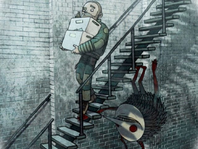 A Wonderful Webcomic Illuminating the Things in the Shadows That Scare Us the Most