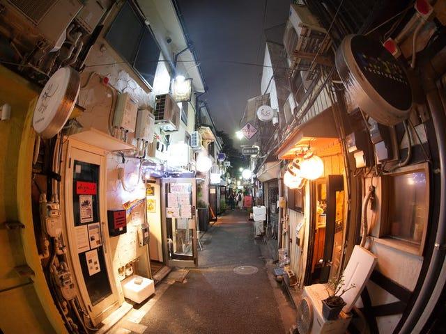 Golden Gai, Shinjuku.  Tokio, Japonia