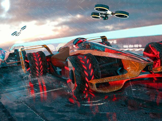 Das McLaren-Konzept von F1 im Jahr 2050 ist wie ein futuristisches Videospiel, das Sie nie erwartet hätten <em></em>
