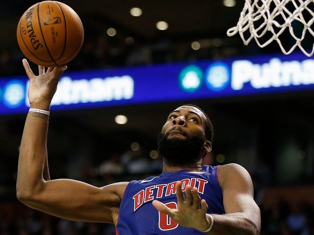 Andre Drummond Looks Like A New Player