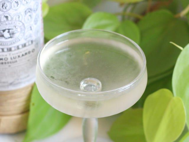 Kick Off the Long Weekend With a Maraschino Martini
