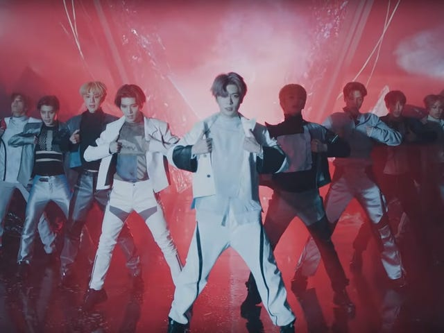 """<a href=""""https://news.avclub.com/nct-127-are-superhuman-in-their-captivating-new-music-1835012839"""" data-id="""""""" onClick=""""window.ga('send', 'event', 'Permalink page click', 'Permalink page click - post header', 'standard');"""">NCT 127 is &quot;Superhuman&quot; in their captivating new music video</a>"""