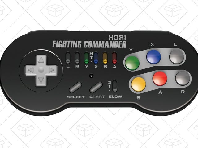 Get This Wireless SNES Classic Controller Before People Buy Them All