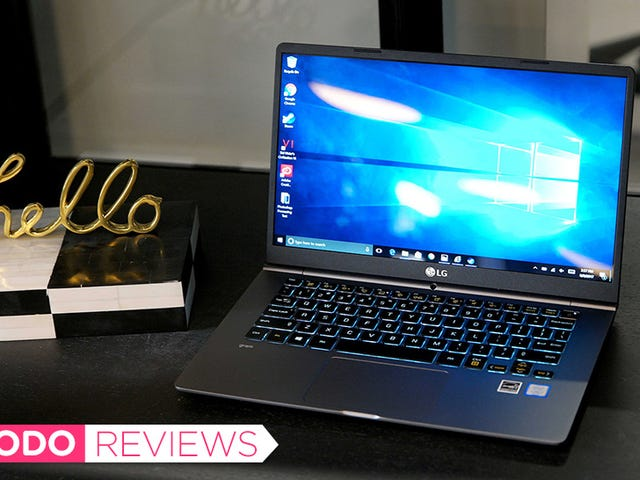 The LG Gram Is One Beautifully Light and Simple Laptop