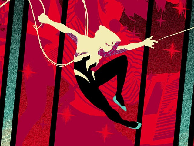 Spider-Gwen Is a Rock Star on This New Limited Edition Poster
