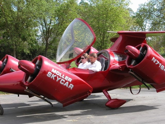 Buy 8 Wankel Engines And Get A Free Flying Car