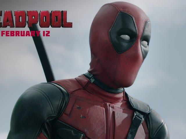 <i>Deadpool</i> के फेस्टिव ट्रेलर टीज़ के लिए रेड में एक बहुत अलग आदमी है