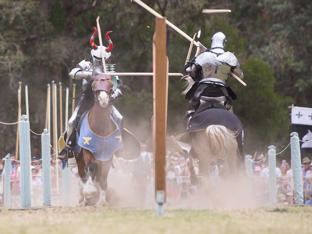 Australia Just Hosted The Inaugural World Jousting Championship