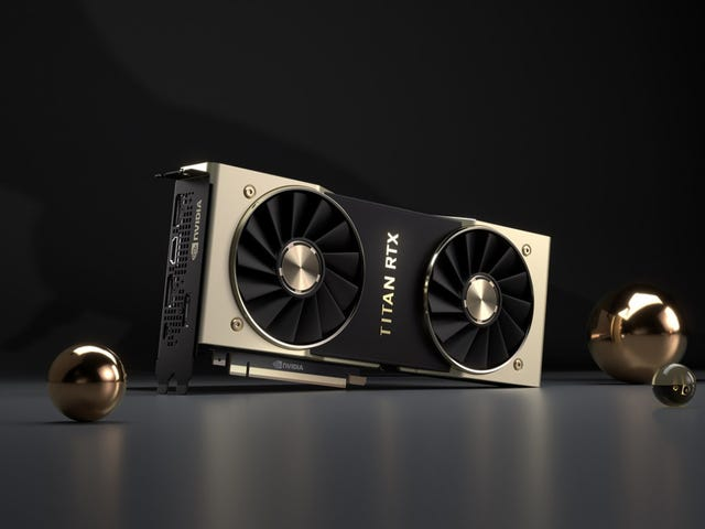 What's the Deal With Nvidia's Ridiculous $2,500 Titan RTX Graphics Card?