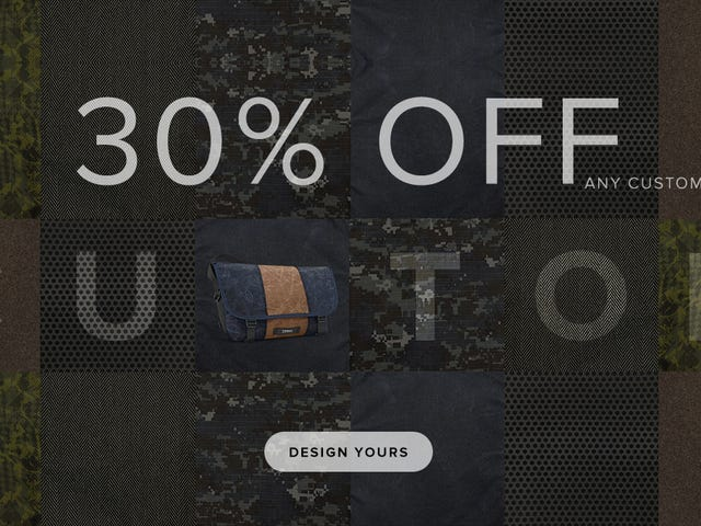 Build the Custom Timbuk2 Bag of Your Dreams For 30% Off