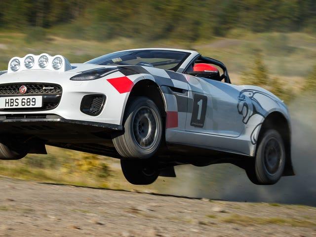Jaguar Built an F-Type Rally Car