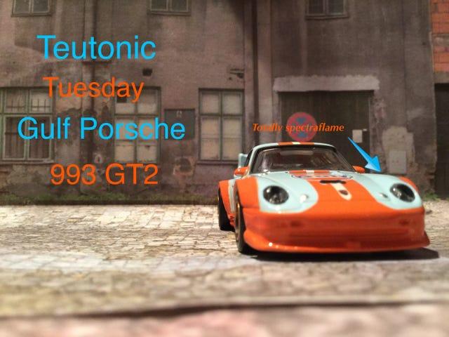 LaLD Car Week: Teutonic Martes Hotwheels Gulf Porsche 993 GT2