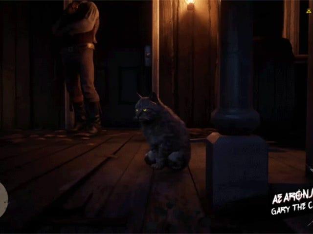 Gary the cat, don't take no guff.