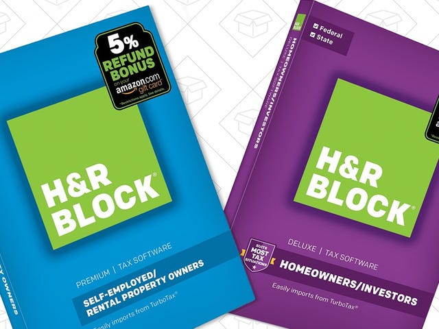 Finally Get Around to Doing Your Taxes With These Huge H&R Block Software Discounts