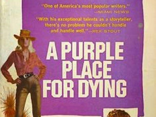 The Violet World of Paperbacks