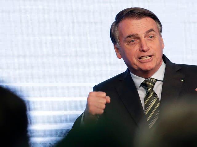 Il presidente brasiliano è pieno di merda