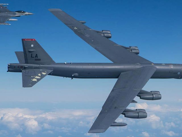 The US Just Held Long-Range Bomber Drills Over An Area Russia Wants