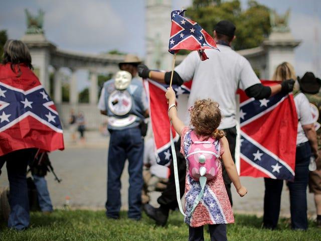 Kebanyakan Selatan Tidak Mendukung Simbol Konfederasi tetapi Masih Tidak Tahu Mengapa Neraka Perang Saudara Berlaku