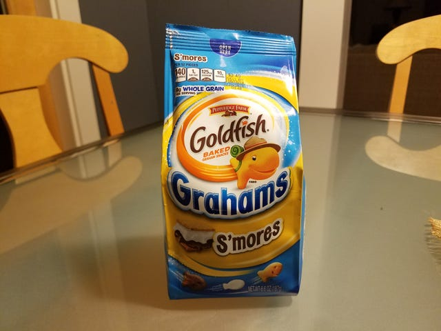 SnackTAYku: Goldfish - But Grahams (and Also S'mores)