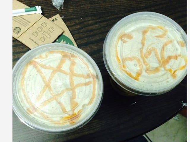 Starbucks Is Sorry a Barista Drew a '666' in a Teacher's Drink