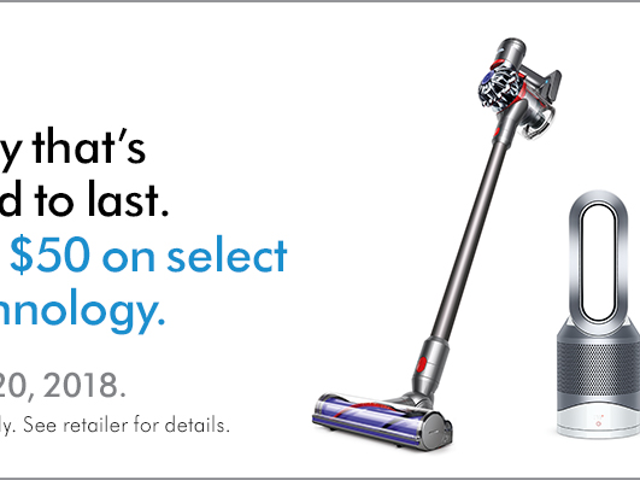 Today's a Really Great Day to Buy Dyson Stuff